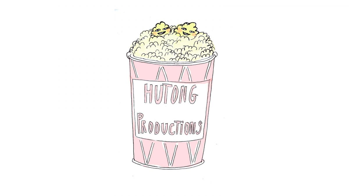 Illustration pop-corn